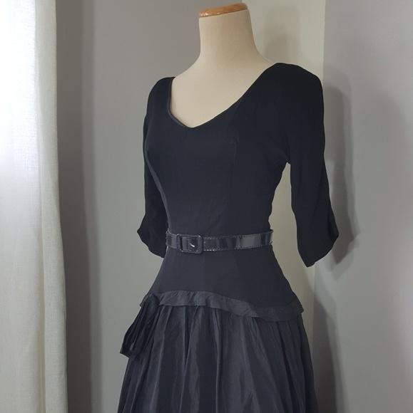 0e43020dc59eb 1940s 1950s vintage evening dress